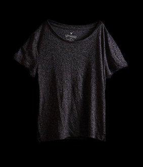 T-shirt gris foncé - Kat Cambareri